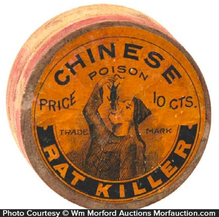 Chinese Poison Rat Killer Box
