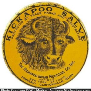 Kickapoo Salve Tin