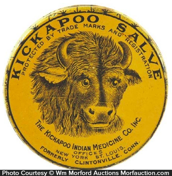 Kickapoo Salve Tin