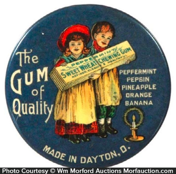 Sweet Wheat Chewing Gum Mirror