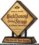 Black Diamond Strings Display