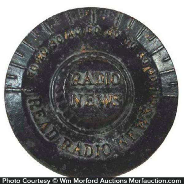 Radio News Paperweight