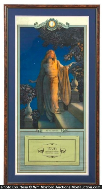 Maxfield Parrish Enchantment Calendar