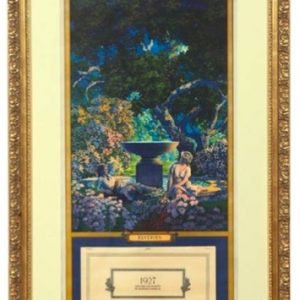 Maxfield Parrish Reveries Calendar