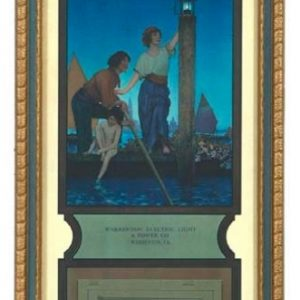Maxfield Parrish Venetian Lamplighter Calendar