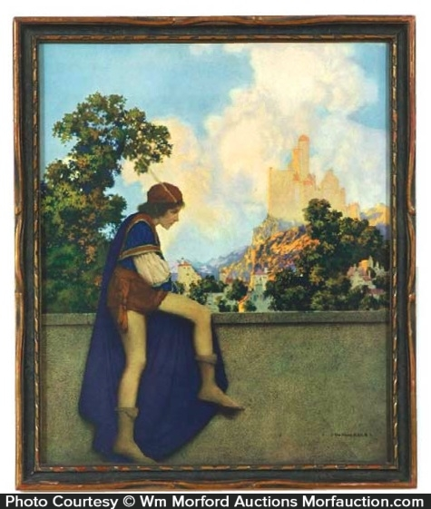 Maxfield Parrish The Page Print