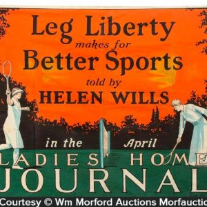 Ladies Home Journal Tennis Banner