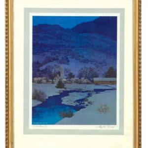 Maxfield Parrish Christmas Eve Print
