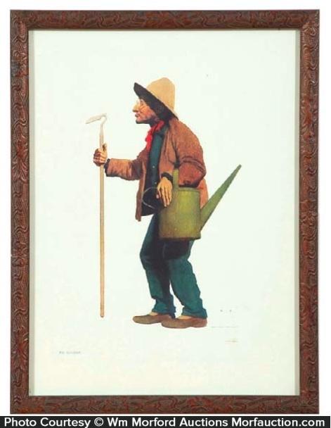 Maxfield Parrish The Gardener Proof