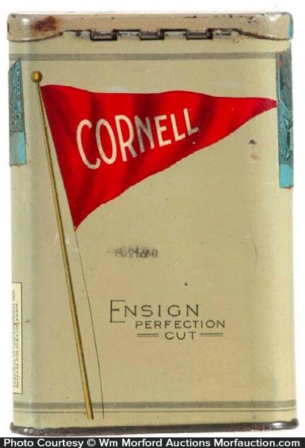Ensign Tobacco Cornell Tin