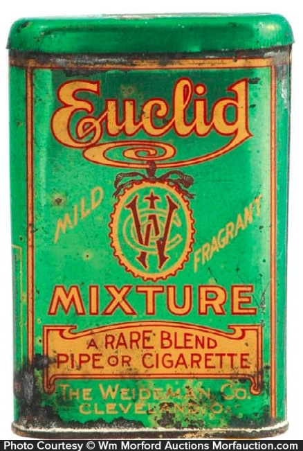 Euclid Tobacco Tin