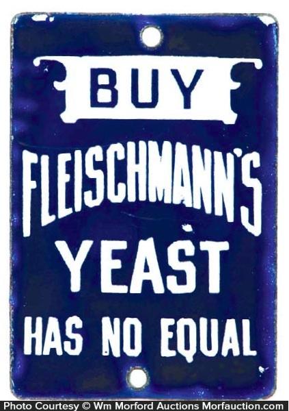 Fleischmann's Yeast Door Push