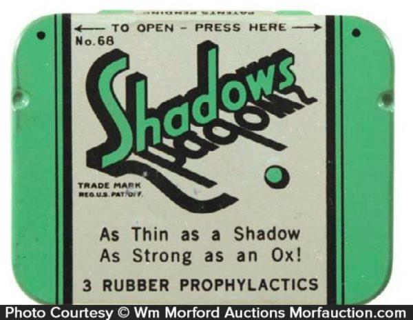 Shadows Condom Tin