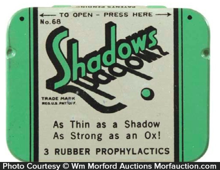 Shadows Condom Tin