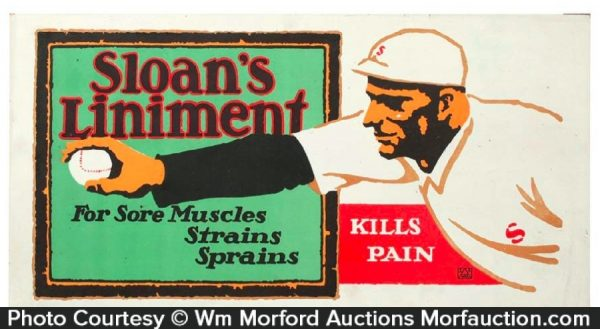 Sloan's Liniment Sign