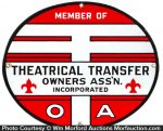 Theatrical Owners Sign