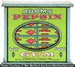 Adams Pepsin Gum Tin