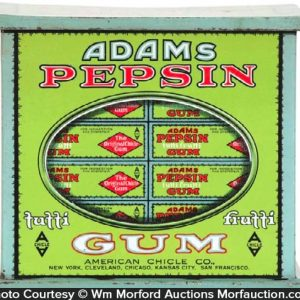 Adams Pepsin Gum Tin