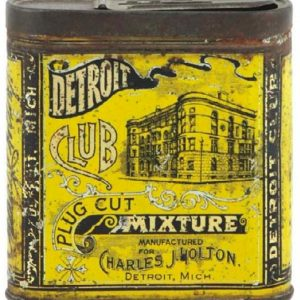 Detroit Club Tobacco Tin
