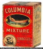 Columbia Mixture Tobacco Box