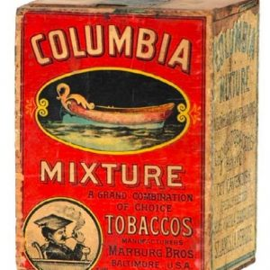 Columbia Mixture Tobacco Box