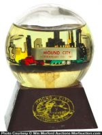 Mound City Transportation Paperweight