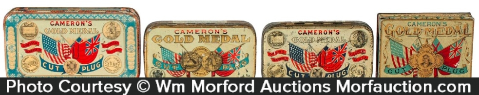 Gold Medal Tobacco Tins
