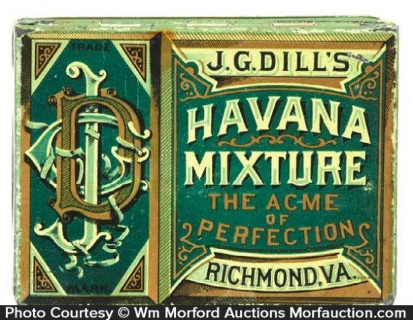 Dill's Havana Mixture Tobacco Tin