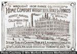 Home Comfort Ranges Sign