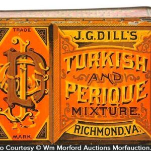 Dill's Turkish Perique Tobacco Tin