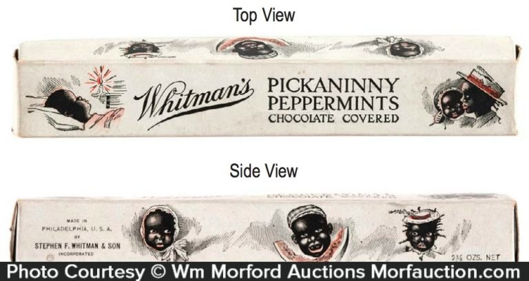 Pickaninny Peppermints Candy Box