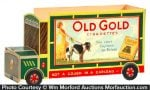 Old Gold Cigarettes Display