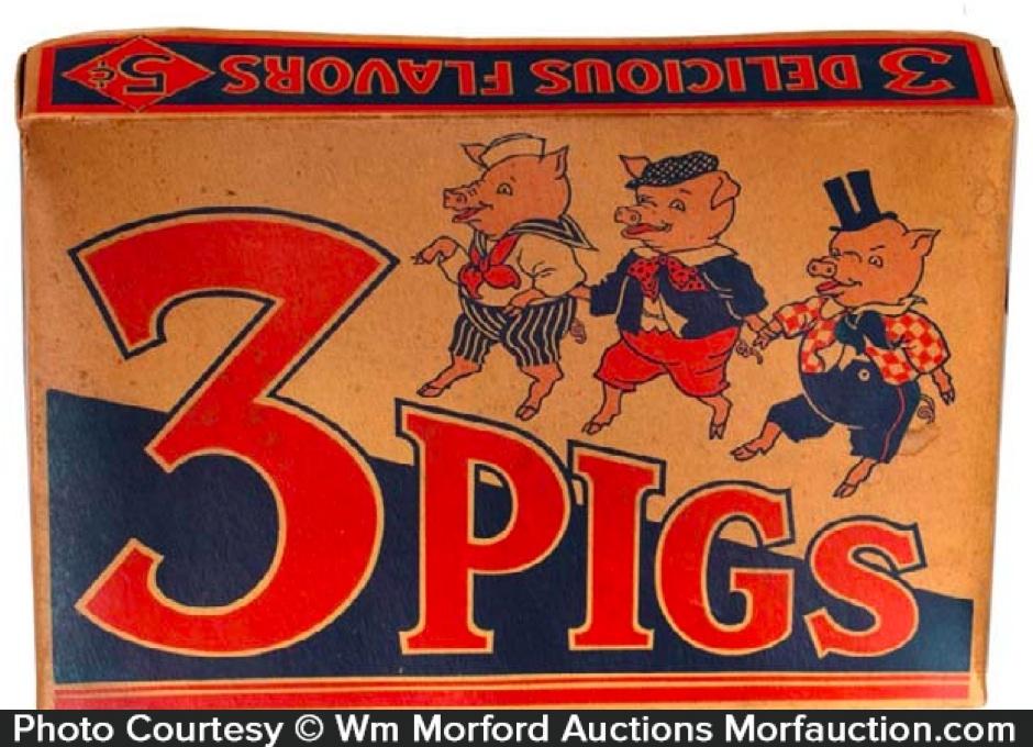 3 Pigs Candy Box