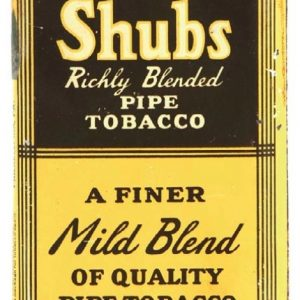 Shubs Tobacco Tin