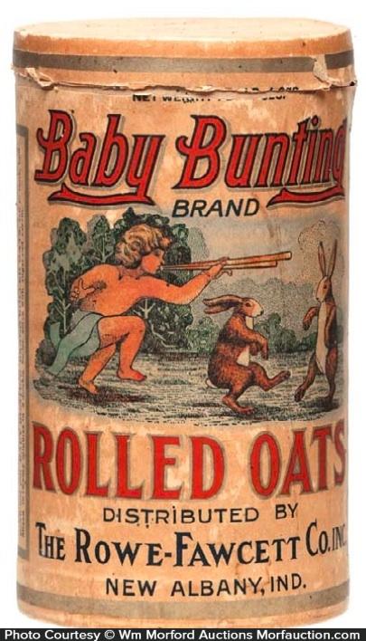 Baby Bunting Oats Box