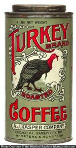 Turkey Coffee Tin