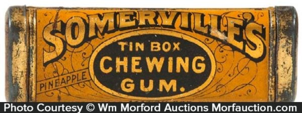 Somerville's Tin Box Gum Tin