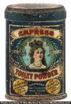Empress Toilet Powder Tin
