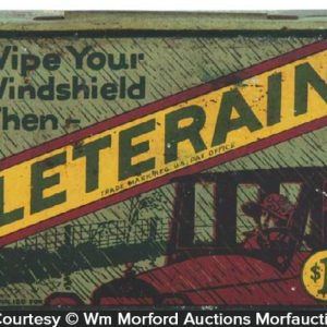 Leterain Wiper Tin