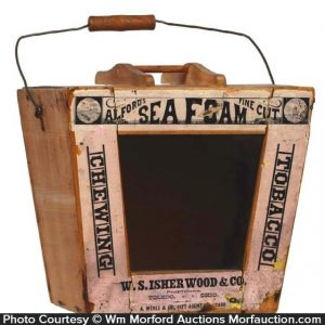 Sea Foam Tobacco Bucket