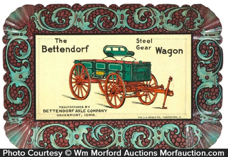 Bettendorf Wagons Tip Tray