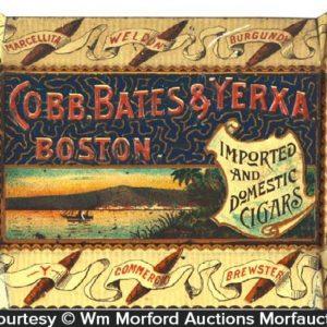 Bates & Yerxa Cigars Tip Tray