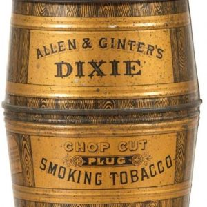 Dixie Plug Tobacco Canister