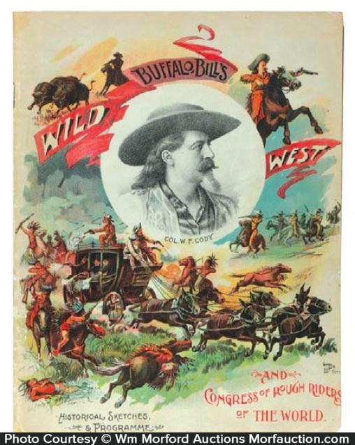 1898 Buffalo Bill Program