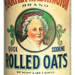 Martha Washington Oats Box