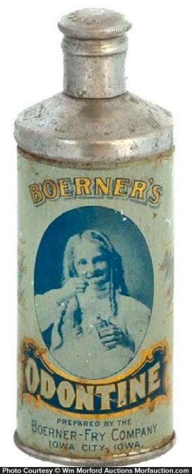 Odontine Tooth Powder Tin