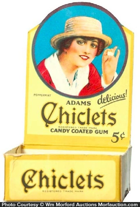 Chiclets Display Box