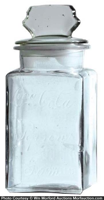 Coca-Cola Pepsin Gum Jar