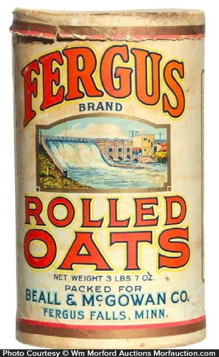 Fergus Oats Box