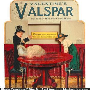 Valspar Window Display